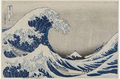 Katsushika Hokusai's 'The Great Wave' (1830-31) How Hokusai's 'The Great Wave' Went Viral. 211. Under the Wave off Kanagawa (Kanagawa oki nami ura), also known as the Great Wave, from the series Thirty-six Views of Mount Fuji. Katsushika Hokusai. 1830–1833 C.E. Polychrome woodblock print; ink and color on paper.