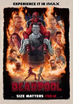 M.A.A.C. – IMAX Trailer For DEADPOOL Starring RYAN REYNOLDS. UPDATE: Poster