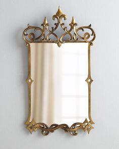 Decorating a castle? Want to feel like you are? This Mirandela Baroque Mirror should help. $237 (reg$395) #saleendssoon