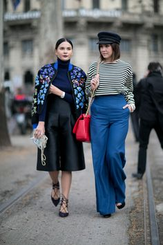 Milan Fashion Week Street Style Pictures | StyleCaster