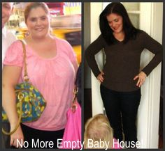 """""""No More Empty Baby House"""" I have lost 72 pounds, 13 inches off my waist and 10 off my hips. Chronic plantar fasciitis and insulin resistance is gone. This wonderful program has not only given me the energy to chase my little culprit. Now I can catch her. I can throw her in the air, twirl her around, wrestle her to the ground, and tickle her! I love having energy! I love this program so much that I am now a personal health coach. Check out LoseWithJennifer.com and fill out the info request!"""