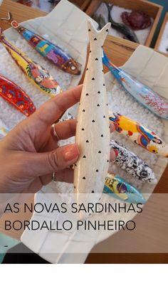 AS NOVAS SARDINHAS BORDALLO PINHEIRO - DESIGN POR ACASO Personalized Items, Design, Serendipity, Pine Tree, Craft, Perfume Bottles, Design Comics