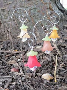 Miniature fairy garden accessories Fairy lanterns by PerfectPosies