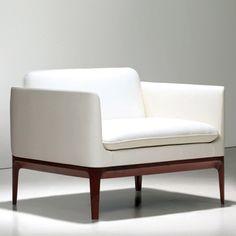 Culdesac For Bernhardt Design Kleines Sofa, Weiße Möbel, Schrankmöbel,  Möbelstühle, Zeitgenössische Möbel