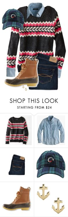 """""""25 Days of Christmas: Day 14"""" by hayley-tennis ❤ liked on Polyvore featuring American Eagle Outfitters, J.Crew, Abercrombie & Fitch, L.L.Bean and Sperry Top-Sider"""