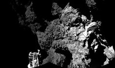 The Philae lander of the European Space Agency's Rosetta mission