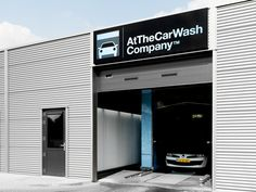 atthecarwash company by weaponofchoice , via Behance