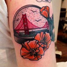 By Cassandra Frances Traditional Tattoo Globe, Traditional Tattoo Flash, Leg Tattoos, Body Art Tattoos, Cool Tattoos, Tattoo Ink, Arm Tattoo, Statue Of Liberty Tattoo, France Tattoo