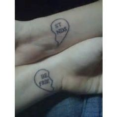 matching tattoos for best friends - Bing Images