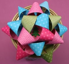 Made using the Sizzix Create a Bow die