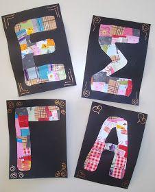 Name Activities, Language Activities, Name Crafts, Kids And Parenting, Back To School, Alphabet, Kindergarten, Homeschool, Letters