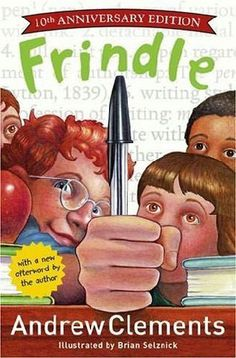 Frindle by Andrew Clements- A book review at PlumfieldandPaideia.com