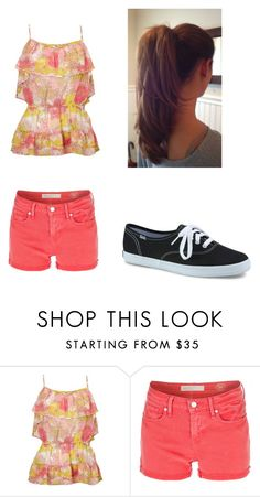 """""""Sarah"""" by smlang ❤ liked on Polyvore featuring Lipsy, Marc by Marc Jacobs and Keds"""
