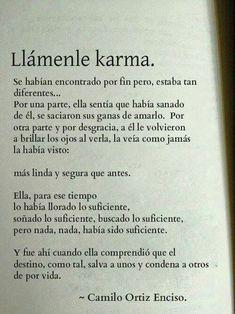 Llámenle Karma...