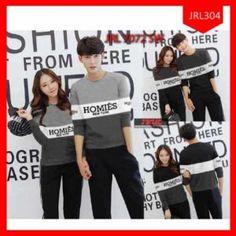 Sweater Couple Hemoies New York Grey Terlaris