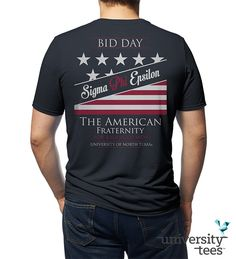 Sigma Phi Epsilon:The American Fraternity #SigEp | Made by University Tees | www.universitytees.com