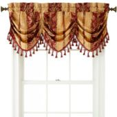 Home Expressions™ Regan Rod-Pocket Tuck Valance Victorian Windows, Valance Window Treatments, Window Coverings, Kitchen Window Valances, Window Valences, Diy Kitchen Remodel, Kitchen Remodeling, Kitchen Reno, Curtains