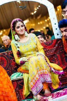 Pakistani Wedding - Mehndi
