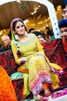 Pakistani Wedding - Mehndi