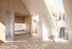Kew House / Master Bedroom Render