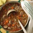 Lentil & Chicken Sausage Stew - one of my favs!
