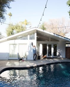 Brendon Urie's ranch home backyard