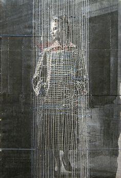 Hinke Schreuders, collage quilt