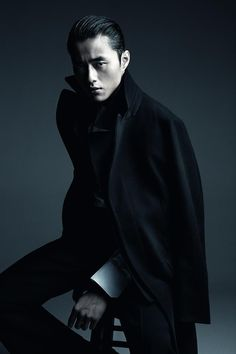 Lane Crawford F/W 13.14 Modern Expressions:Zhao Lei by Patrick Demarchelier