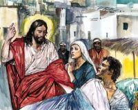 Wskrzeszenie młodzieńca z Nain - Jezus przywraca życie temu, co było martwe