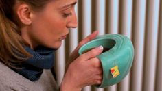 This Mug Has a Cozy Handle to Keep Your Fingers Warm  Foodbeast