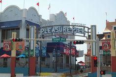 Historic Pleasure Pier Opens on Galveston Island - Houston Press