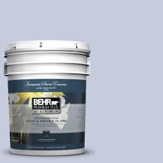 BEHR Premium Plus Ultra, 5-gal. #PPU15-17 Monet Satin Enamel Interior Paint, 775005 at The Home Depot - Mobile