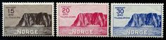 Norway 1930 North Cape Stamps