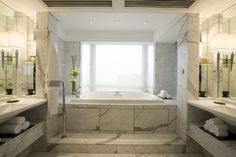 Bathrooms (Mediterranean Style) - traditional - Bathroom - New York - Ancient Surfaces