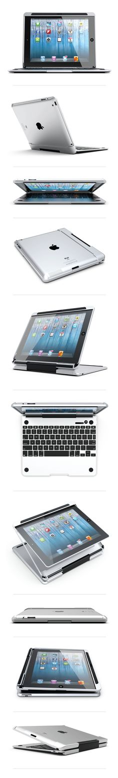 "The CruxSKUNK is an awesome new case that essentially transforms your iPad into a laptop. The design of the keyboard-case beautifully compliments the design aesthetic of the iPad, as it is ""machined out of airplane grade aluminum (6061) and then anodized to give it the same fit and finish as the Macbook Air"". The CruxSKUNK …"