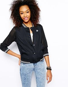nike bomber jacket womens - Google Search