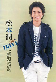 Matsumoto Jun. Sigh. I would marry him so fast. ;)