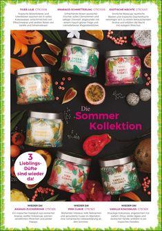 Decoration, Salsa, Partylite Catalogue, Jar, Food, Vanilla, Candle, Peaches, Lemon