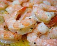 Garlic Shrimp with Red Chile Oil  (from Bobby Flay)