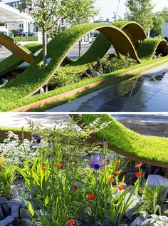 12 Inspirational Garden Designs From The 2016 Chelsea Flower Show You are in the right place about feng shui imagenes Here we offer you the most beautiful pictures about the feng shui tips you are loo Chelsea Flower Show, Landscape Architecture Design, Green Architecture, Feng Shui Garden Design, Chelsea Garden, Chelsea London, Chelsea 2016, Garden Show, Big Garden