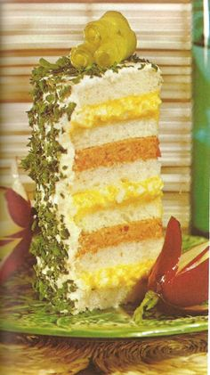 Ham and Egg towers (Family Circle Illustrated Library of Cooking, 1972, Volume 14)  Please be advised that this is NOT cake.