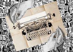 #DrawingHands #Escher changes in #Writinghands by #Shu #Formanuova. Opera esposta al museo delle macchine da scrivere #Schreibmaschinenmuseum ed immagine guida della manifestazione.