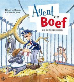 Agent en boef en de fopmoppen - Tjibbe Veldkamp & Kees de Boer. Leespluim van de maand februari 2014.