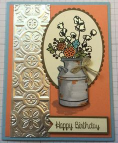 Best Birthday Wishes for Women Cards Stampin & 54 Ideas, Birthday Wishes For Women, Best Birthday Wishes, Happy Birthday Cards, Birthday Cakes, Fall Birthday, Scrapbooking, Stamping Up Cards, Thanksgiving Cards, Fall Cards