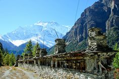 Annapurna circuit, Nepal. To experience the Himalayas, buddhism and hinduism, all at once!
