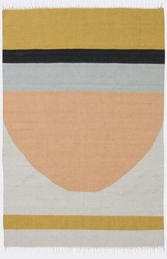Aztec-inspired and funky fresh, the assorted lines on our Kelim Rug will set a casual, geometric vibe.