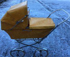 FINN – Retro dukkevogn Baby Strollers, Retro, Baby Prams, Strollers, Rustic, Stroller Storage, Mid Century