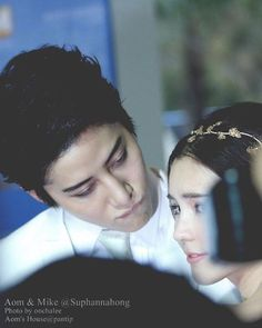 Instagram media by romant1c_pr1ncess - Well.. Short-sighted... you know!.  #aomike #aom_sushar #m1keangelo cr: Aom's house pantip Thx!