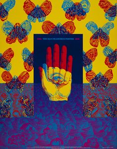 Victor Moscoso, Advertising for the American Federation of Arts Traveling Poster Exhibit (Neon Rose #26) 1968
