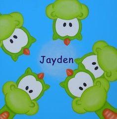 Geboortekaartje met draakjes De goedkoopste geboortekaartjes online ontwerpen en bestellen via http://www.geboortepost.nl/geboortekaartjes/cartoons/happy-dragon-in-green.html